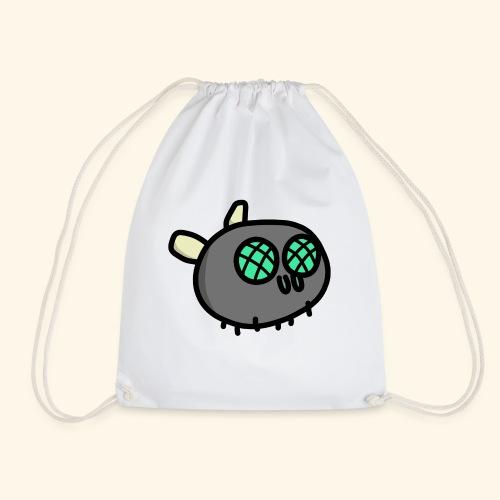 Turquoise Fly - Drawstring Bag