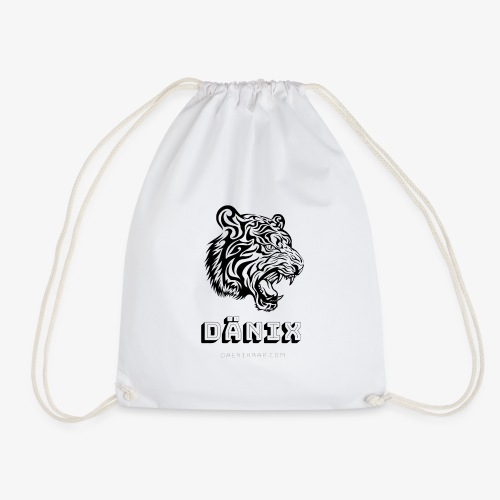 Tiger Black - Drawstring Bag