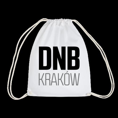 DNB KRAKÓW SQ WHITE - Worek gimnastyczny