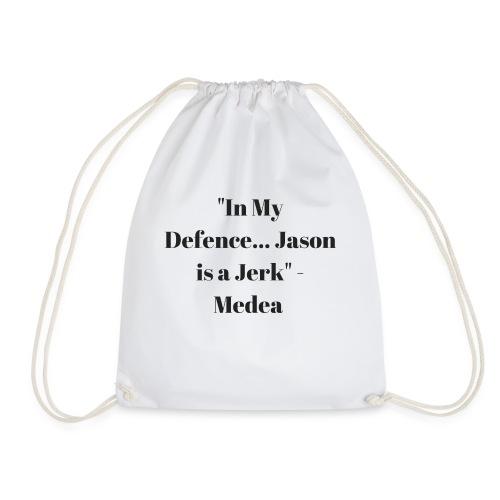Jason is a Jerk - Drawstring Bag