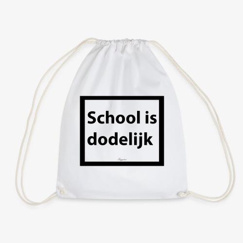 School is dodelijk - Sac de sport léger