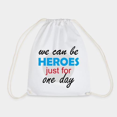 GHB Jeder kann für 1 Tag ein Held sein 190320181 - Turnbeutel