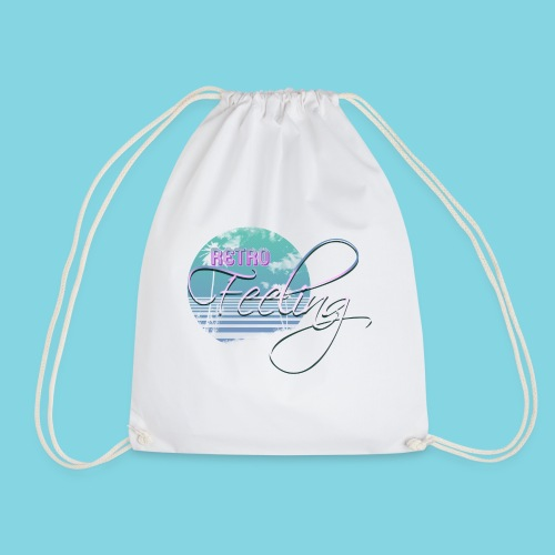 Retro feeling pastel - Drawstring Bag
