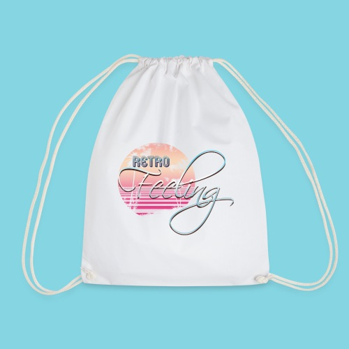 Retro Feeling Pastel 2 - Drawstring Bag