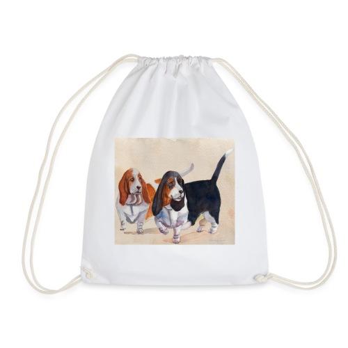 Basset hound_double-trot - Sportstaske