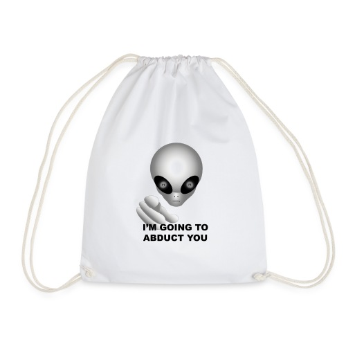 I'm going to abduct you - Sacca sportiva