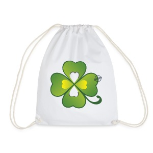 Clover - Symbols of Happiness - Drawstring Bag
