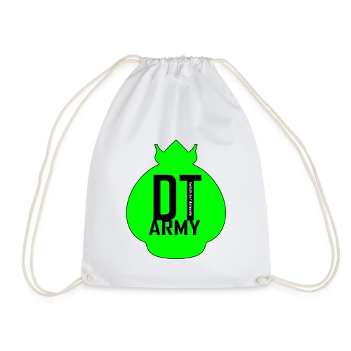 DT ARMY GREEN - Turnbeutel