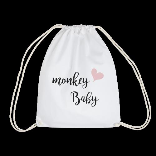 monkey baby - Turnbeutel