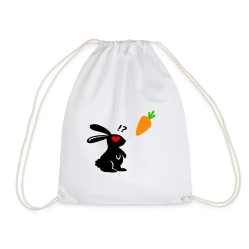 Bunny Loves Carrot - Turnbeutel