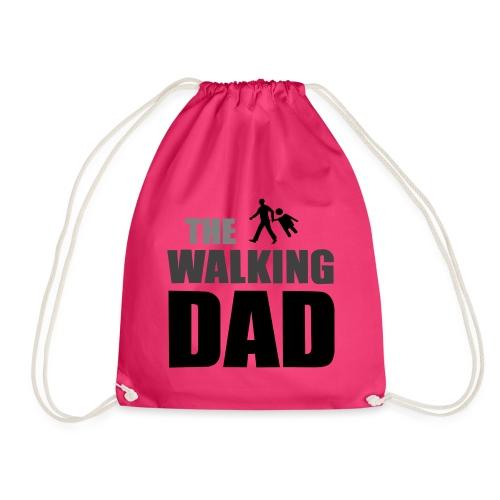 the walking dad auf dem Weg in die lustige Bar - Turnbeutel