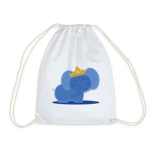 Elephant prince - Drawstring Bag