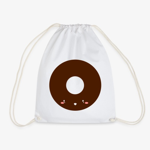 Happy Doughnut All Ages Perfect Gift - Drawstring Bag