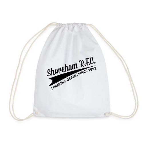 Spraying Germs - Drawstring Bag