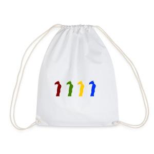 Detective Horis Rainbow - Drawstring Bag