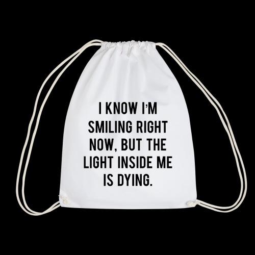 Dying Light 2 Black - Drawstring Bag
