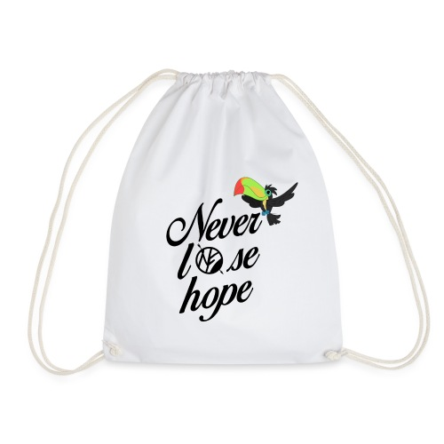NF - Never lose hope - toucan - Sac de sport léger