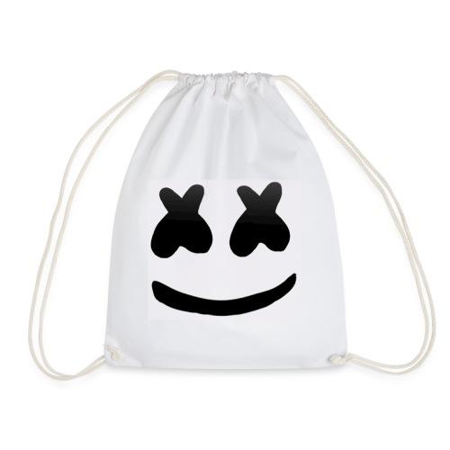 Marshmello face logo - Gymnastikpåse