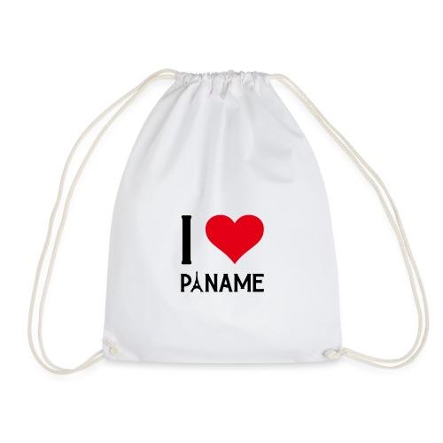 I love Paname - Sac de sport léger