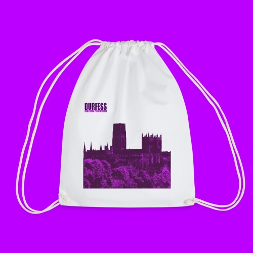 Square Durfess Logo - Cathedral Only - Drawstring Bag