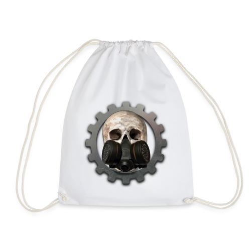 EBM - ELECTRONIC BODY MUSIC DEATH HEAD - Drawstring Bag