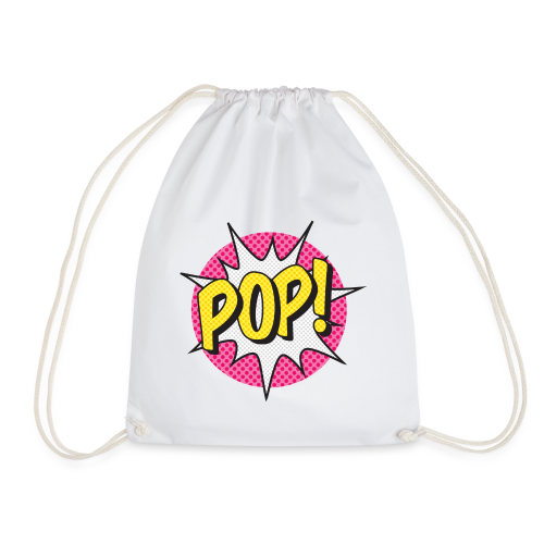 ONOMATOPOEIA. Pop - Drawstring Bag