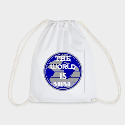 The World is mine - Drawstring Bag
