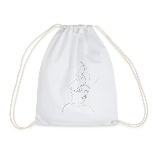 Faces. - Drawstring Bag