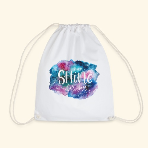 Galaxy shining for you - Mochila saco