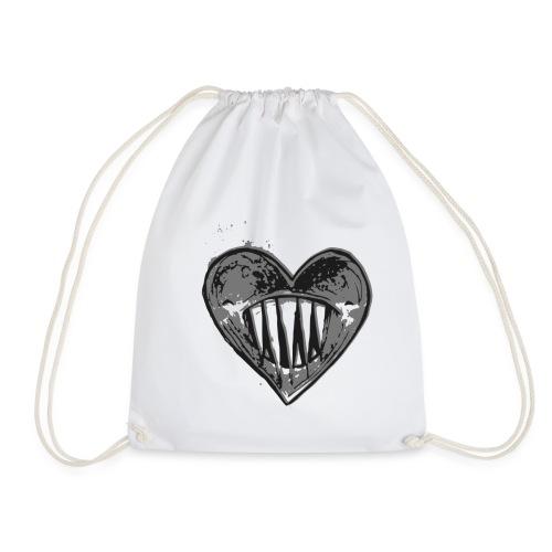Corazón Negro - Mochila saco
