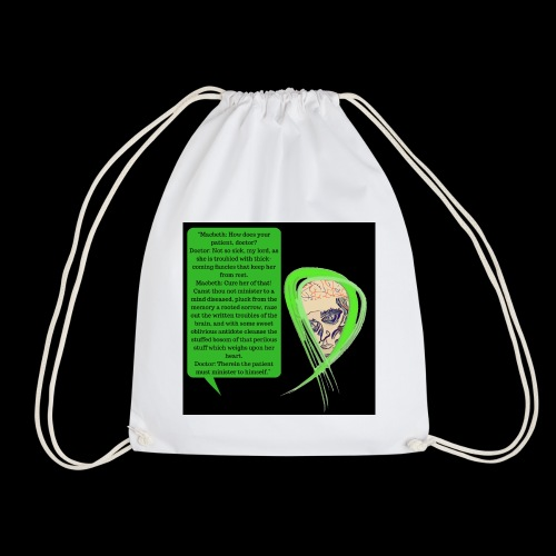 Macbeth Mental health awareness - Drawstring Bag