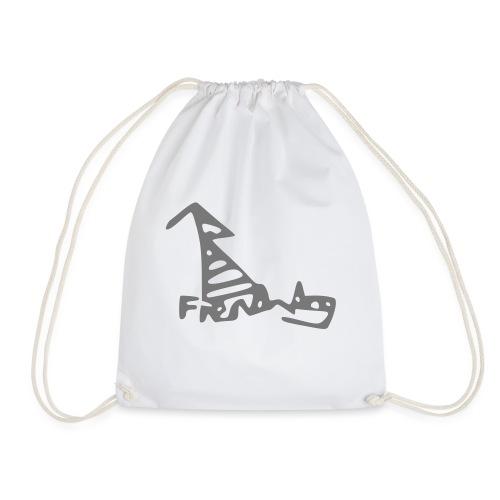 French Dog - Drawstring Bag