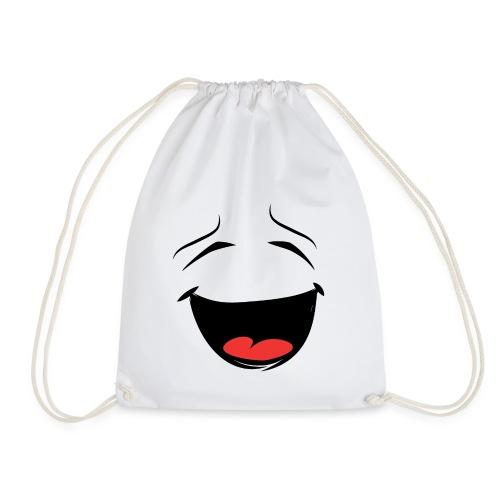 Smiley Design - für glückliche Tage / Als Geschenk - Turnbeutel