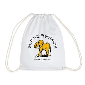 Babyelefant - Save The Elephants - Turnbeutel