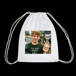 matty b box logo - Drawstring Bag