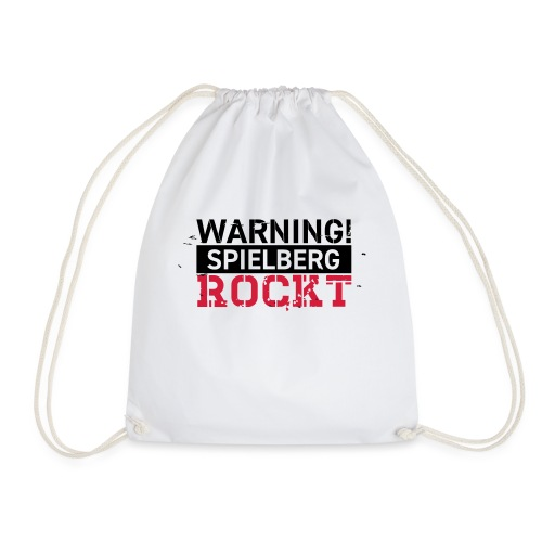 WARNING - Spielberg rockt! - Turnbeutel