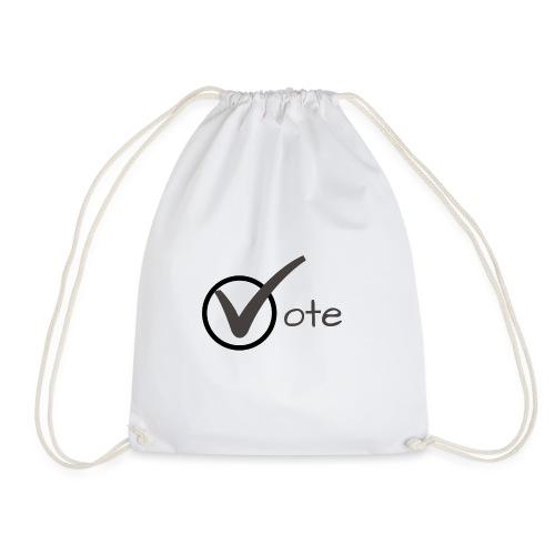 Vote - Drawstring Bag