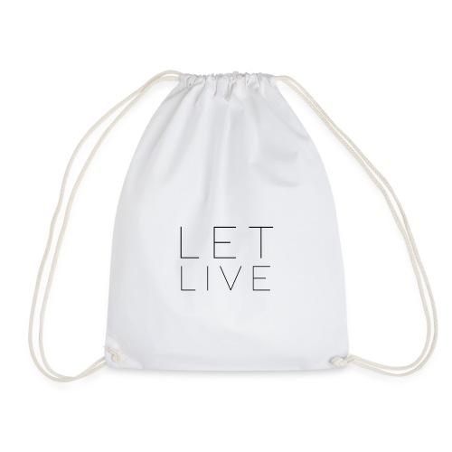 Let Live - Gymnastikpåse