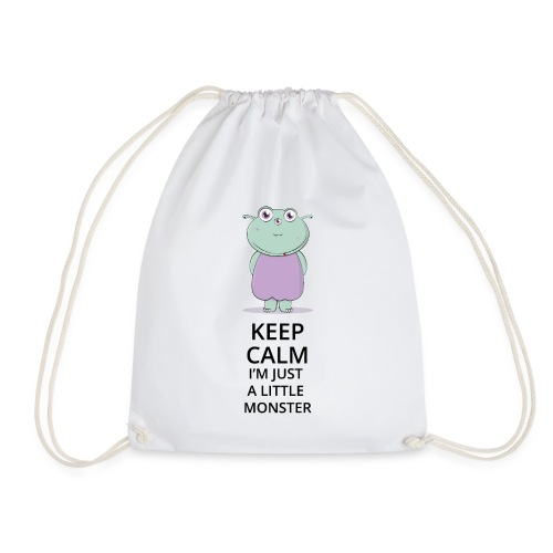 Keep Calm - Little Monster - Petit Monstre - Sac de sport léger