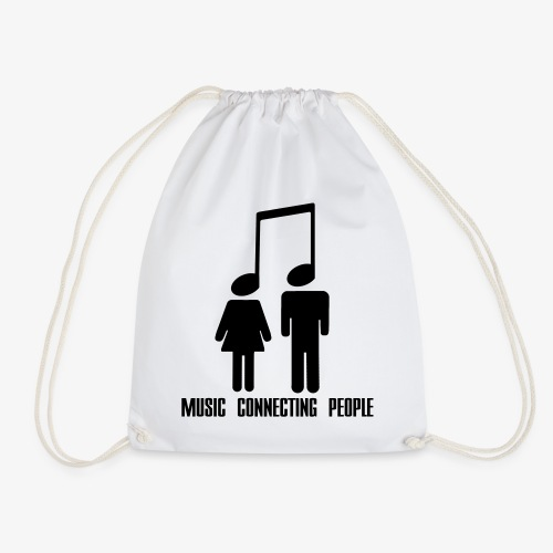 Music Connecting People - Turnbeutel