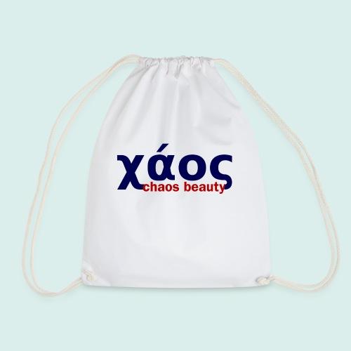 chaos in greek limited - Drawstring Bag