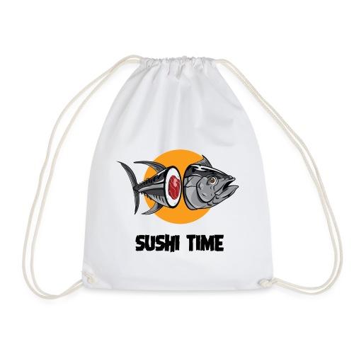 SUSHI TIME-tonno-n - Sacca sportiva