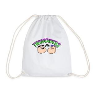 Twinvaders Logo - Drawstring Bag