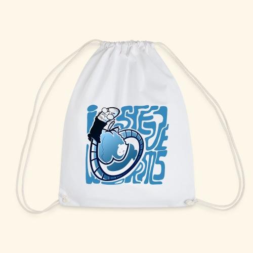 i STEVE WORMS - Drawstring Bag