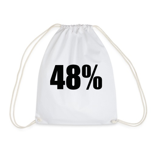 48% Long Sleeve - Drawstring Bag
