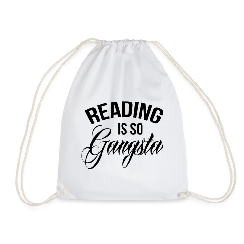 Reading is so Gangsta - Gymtas