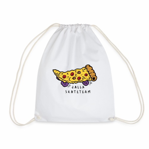 JallaSkateTeam pizza logo - Gymbag