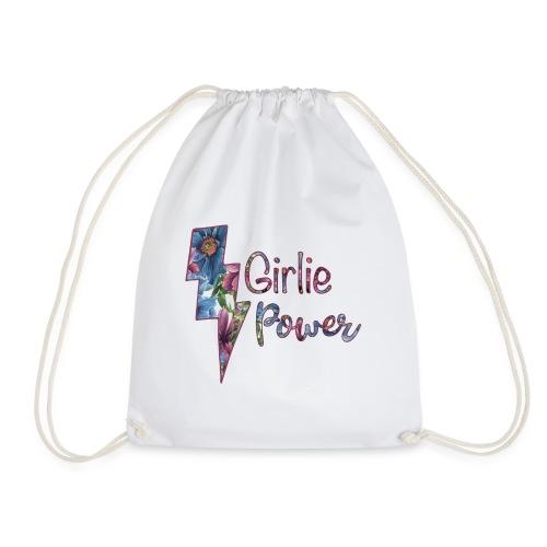 Girlie Power - Feminism Flower Power Girls - Turnbeutel