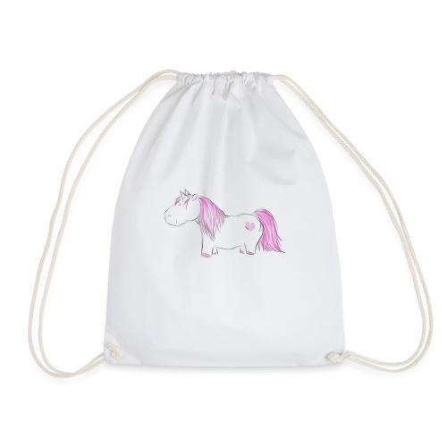 Pink Unicorn - Turnbeutel