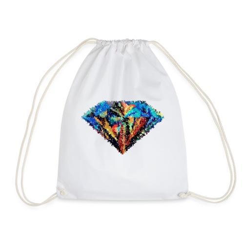 Diamant abstrait - Sac de sport léger